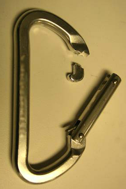 Carabiner Failure at Pin