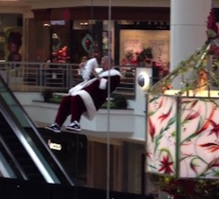Santa Claus Rappelling Incident