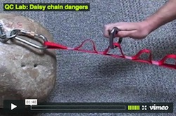 daisy chain hazards danger video black diamond