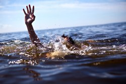 accidental drowning victim hoping for rescue